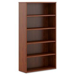 BL Laminate Series Bookcase 5 Shelves 32w x 13.81d x 65.18h Medium Cherry (BSXBL2194A1A1)