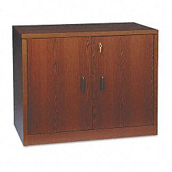 10500 Series Storage Cabinet With Doors 36w x 20d x 29-12h Mahogany (HON105291NN)