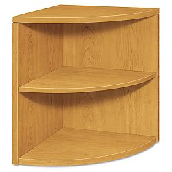 10500 Series Two-Shelf End Cap Bookshelf 24w x 24d x 29-12h Harvest (HON105520CC)