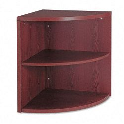 10500 Series Two-Shelf End Cap Bookshelf 24w x 24d x 29-12h Mahogany (HON105520NN)