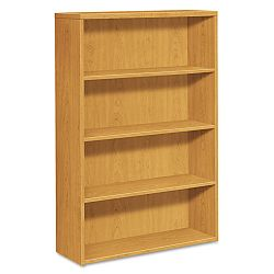 10500 Series Bookcase 4 Shelves 36w x 13-18d x 57-18h Harvest (HON105534CC)
