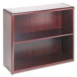 10700 Series Bookcase 2 Shelves 36w x 13-18d x 29-58h Mahogany (HON10752N)