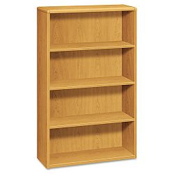 10700 Series Bookcase 4 Shelves 36w x 13-18d x 57-18h Harvest (HON10754C)