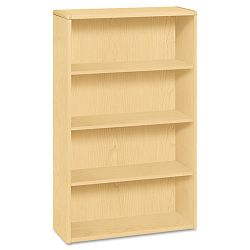 10700 Series Bookcase 4 Shelves 36w x 13-18d x 57-18h Natural Maple (HON10754DD)