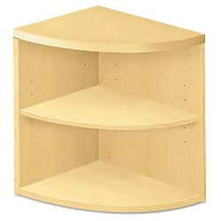 Valido 11500 2-Shelf End Cap Bookshelf 24w x 24d x 29-12h Natural Maple (HON115520AXDD)