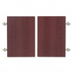 Optional Doors for 18701890 Series Laminate Bookcases 36w x 25-34h Mahogany (HON1801N)