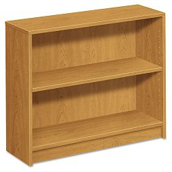 1870 Series Bookcase 2 Shelves 36w x 11-12d x 29-78h Harvest (HON1871C)