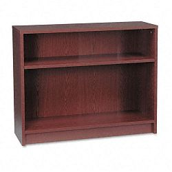 1870 Series Bookcase 2 Shelves 36w x 11-12d x 29-78h Mahogany (HON1871N)