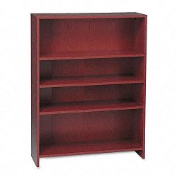 1870 Series Bookcase 4 Shelves 36w x 11-12d x 48-34h Mahogany (HON1874N)