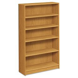 1870 Series Bookcase 5 Shelves 36w x 11-12d x 60-18h Harvest (HON1875C)