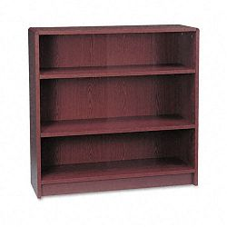 1890 Series Bookcase 3 Shelves 36w x 11-12d x 36-18h Mahogany (HON1892N)