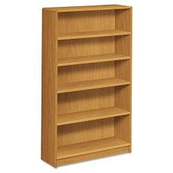 1890 Series Bookcase 5 Shelves 36w x 11-12d x 60-18h Harvest (HON1895C)