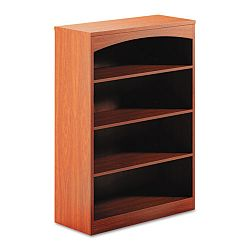 Brighton Series Laminate 4-Shelf Bookcase 36w x 15d x 50½h Cherry (MLNBTB4S36LCR)
