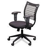 Seatflex Series SwivelTilt Upholstered Managerial Chair wArms & Padded Seat (BLT34448)