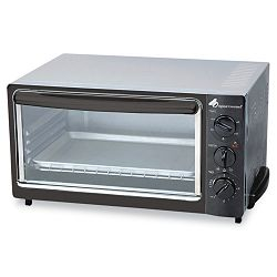 Multi-Function Toaster Oven with Multi-Use Pan 15 x 10 x 8 BlackStainless (OGFOG22)