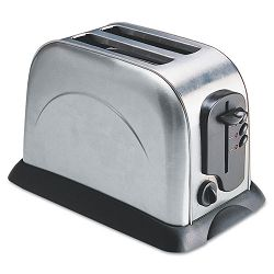 2-Slice Toaster with Adjustable Slot Width Stainless Steel (OGFOG8073)