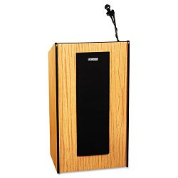 Presidential Plus Lectern 25-12w x 20-12d x 46-12h Medium Oak (APLSW450MO)