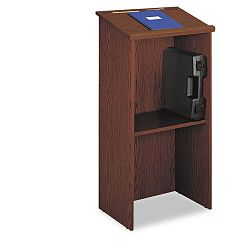 Stand-Up Lectern 23w x 15-34d x 46h Cherry (SAF8915CY)