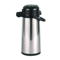 Commercial Grade 2.2 Liter Airpot wPush-Button Pump Stainless Steel (HORPAE22B)