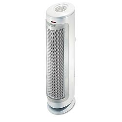 Permatech Tower Air Cleaner wHEPA-Type Filter 180 sq ft Room Capacity (BNRBAP1525RCWU)