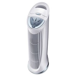 Three-Speed QuietClean Tower Air Purifier 124 sq ft Room Capacity (HWLHFD110)
