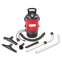 Commercial Backpack Vacuum 11.5 lbs Red (EUKSC412A)