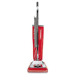 Quick Kleen Commercial Vacuum wVibra-Groomer II 17.5 lbs Red (EUKSC886E)