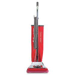 Heavy-Duty Commercial Upright Vacuum 17.5 lbs ChromeRed (EUKSC888K)