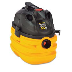 Heavy-Duty Portable WetDry Vacuum 5-Gallon Capacity 17 lbs BlackYellow (SHO5872410)