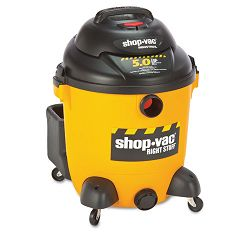 Economical WetDry Vacuum 12 Gallon Capacity 23 lbs BlackYellow (SHO9625110)