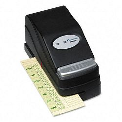 PD100 Electric Payroll Recorder BlackSilver (ACP010236000)