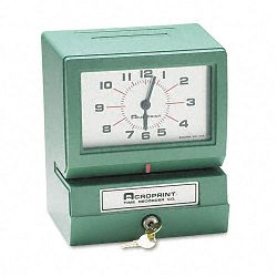 Model 150 Analog Automatic Print Time Clock with Day1-12 HoursMinutes (ACP012070400)