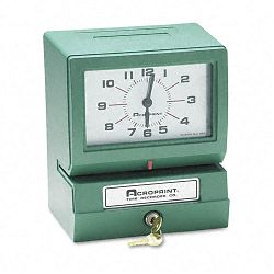Model 150 Heavy-Duty Analog Automatic Print Time Clock (ACP01207040A)