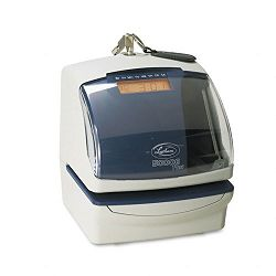 5000E Plus Electronic Time RecorderDocument StampNumbering Machine Cool Gray (LTH5000EP)