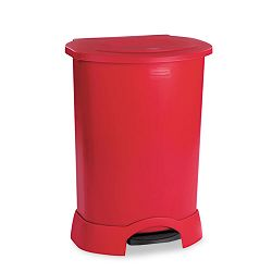 Step-On Container Oval Polyethylene 30 gal Red (RCP614700RD)