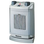 Oscillating Ceramic Heater 8 x 6-34 x 11 Light Cold Gray (HLSHCH4077UM)