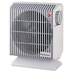 Compact Energy Efficient Heater Fan Gray 4.84w x 8.19d x 9.92h (HLSHFH105UM)