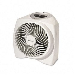 One-Touch Whisper Quiet 1500W Power Heater 11-12w x 9d x 11h White (HLSHFH2986U)