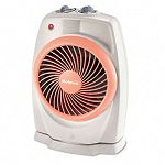 ViziHeat 1500W Power Heater & Fan Plastic Case 9-14 x 6-38 x 13-34 White (HLSHFH421U)