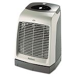 One-Touch Oscillating HeaterFan 9-18w x 9-58d x 13-12h Gray (HLSHFH5606UM)