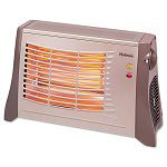 Ceramic Radiant Heater 17 12 x 6 12 x 11 Light Brown (HLSHRH314)