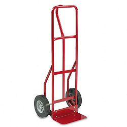 Two-Wheel Steel Hand Truck 500lb Capacity 18w x 47h Red (SAF4084R)