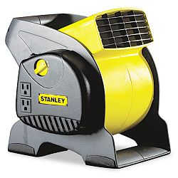 Three-Speed High-Velocity Blower Fan Black & Yellow (LSK655702)