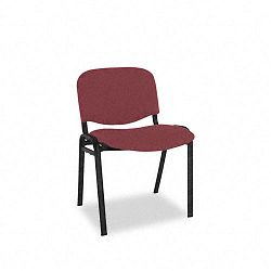 Continental Series Stacking Chairs Burgundy Fabric Upholstery 4Carton (ALESC67FA30B)