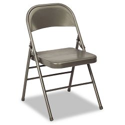 60-810 Series Steel Folding Chairs Dark Gray 4Carton (CSC60810DGR4)