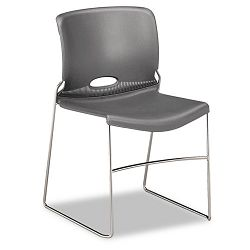Olson Stacker Chair Silver Gray 4Carton (HON404116)