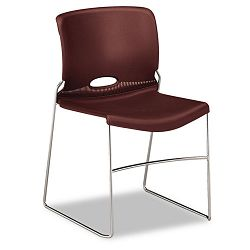 Olson Stacker Chair Garnet 4Carton (HON404165)