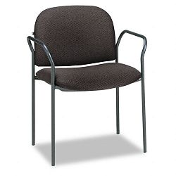 Multipurpose Stacking Arm Chairs Black 2Carton (HON4051AB10T)