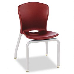 Accomplish Chairs 18 x 17-14 x 26-58 Garnet 4Carton (HONCL414PCE65C)