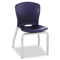 Accomplish Chairs 18 x 17-14 x 26-58 Navy 4Carton (HONCL414PCE91C)